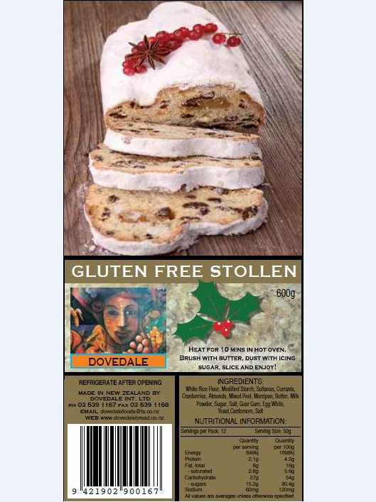 Xmas Stollen (Not Available)